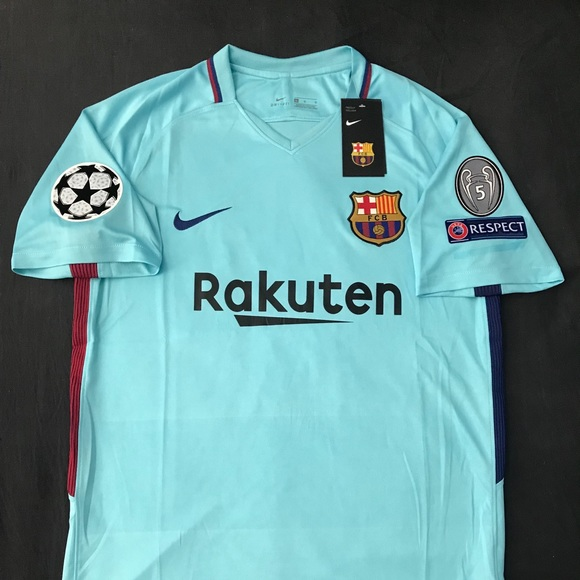 FC Barcelona Away Jersey 2017 2018 Messi  10 d2c3687426bf